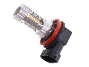 Bilde av 80W H11 Gul Cree LED 10-30V